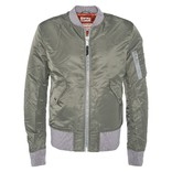 Men AC Bomber Jacket Khaki